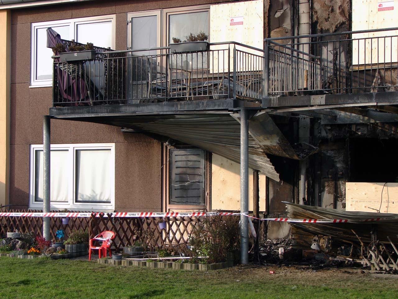 Voldsom brand i etageejendom i Sønderborg | 112news.dk