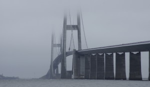 storebælt, storebæltsbroen, ulykke, vejr, tåge