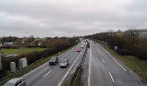 motorvej, færdselsuheld lukker vestmotorvejen, uheld, ulykke