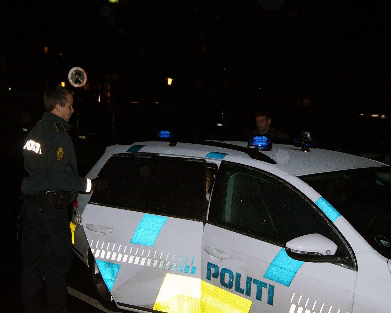 anholdt, arkiv billede, skud, trusler, Vejlø