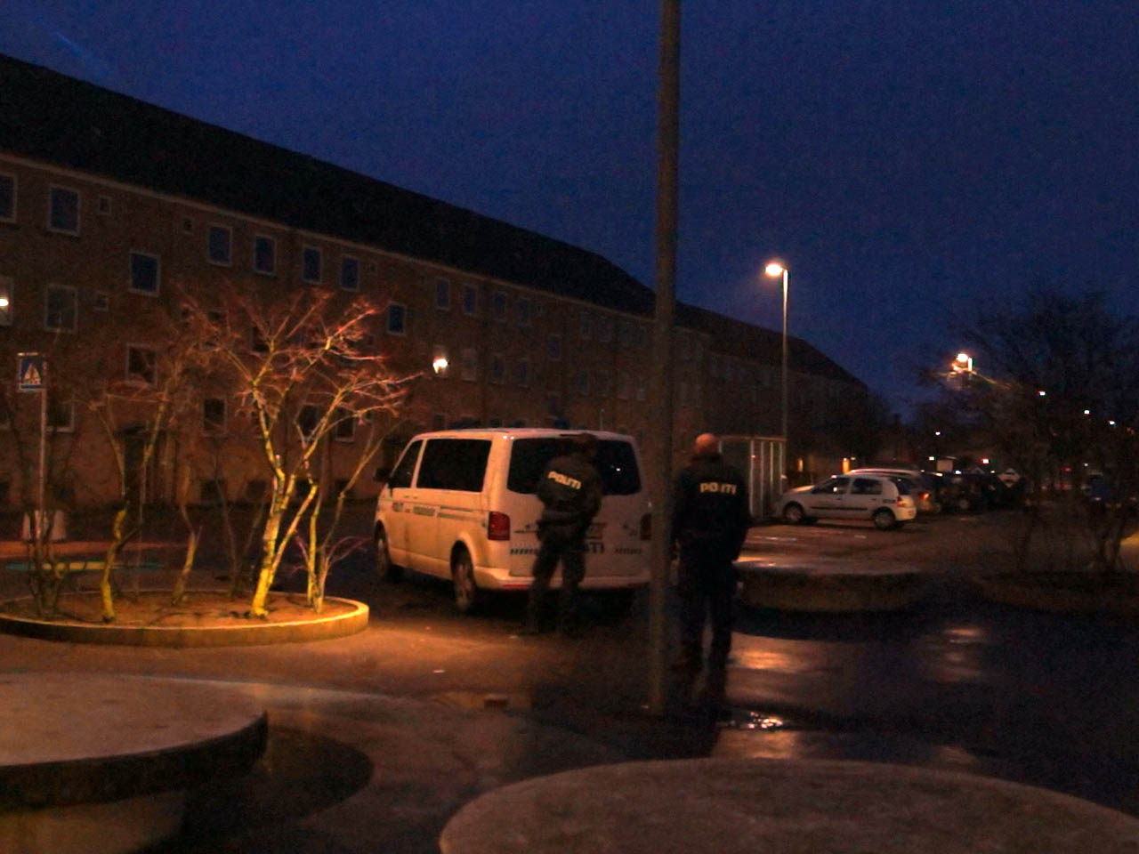 Mere politi på Motalavej i Korsør