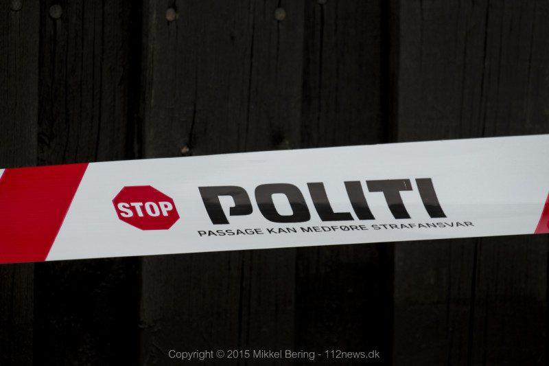 politi, afspærring, efterforskning, undersøgelse., drab