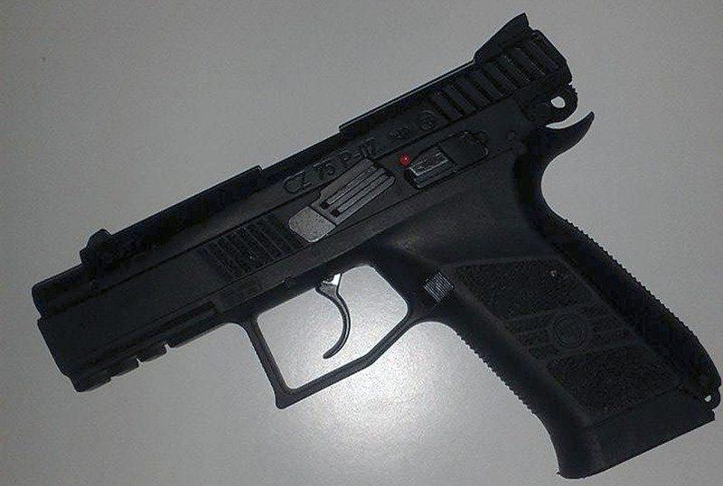 pistol, våben, gun