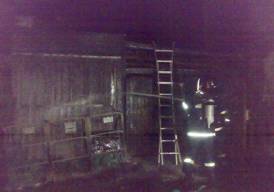 Påsat brand ved beboelsesejendom på Uffesvej i København N.