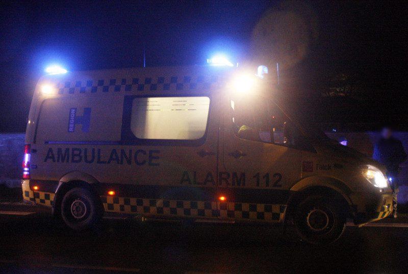 Ambulance, fodgænger død, arkiv foto, 112, krimi,