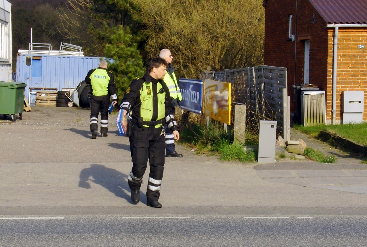 politi, kontrol, færdselspoliti, vanvidsbillister, korsør