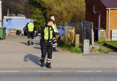 politi, kontrol, færdselspoliti, vanvidsbillister, korsør, færdselskontrol