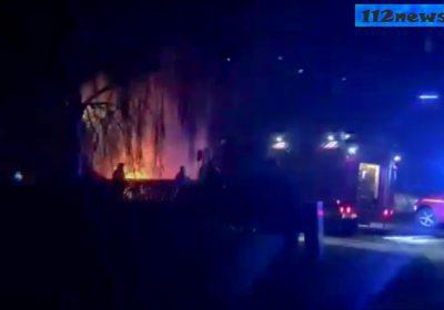 Bilbrande i det sydlige Korsør.