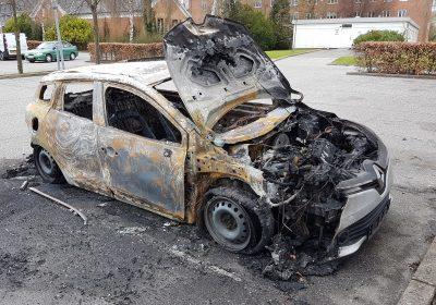 påsatte brande i Slagelse