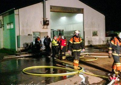 Brand ved Rudkøbing Havnesmedie APS