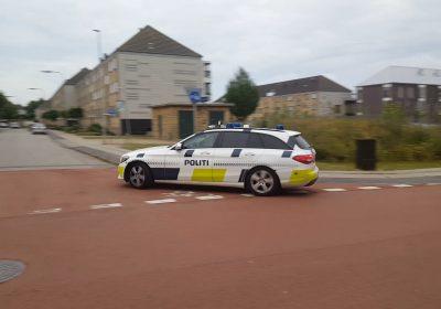 Biljagt i Korsør, politi, varetægtsfængslet efter vild biljagt