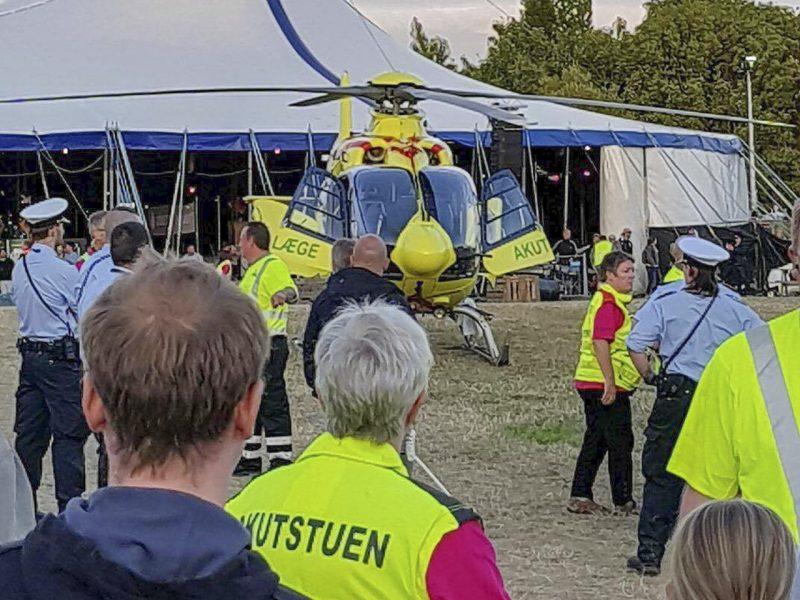 Mand død efter voldsepisode på Vig Festivalen.