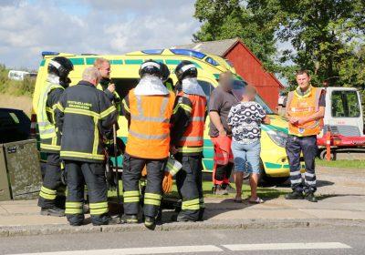Mindre færdselsuheld på Ringstedvej ved Kvanløse