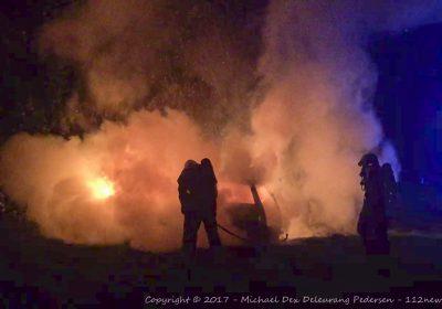 Mulig påsat brand ved forladt klubhus i Korsør.