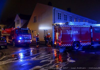 ild i frituregryde på Kruusesvej i Korsør.