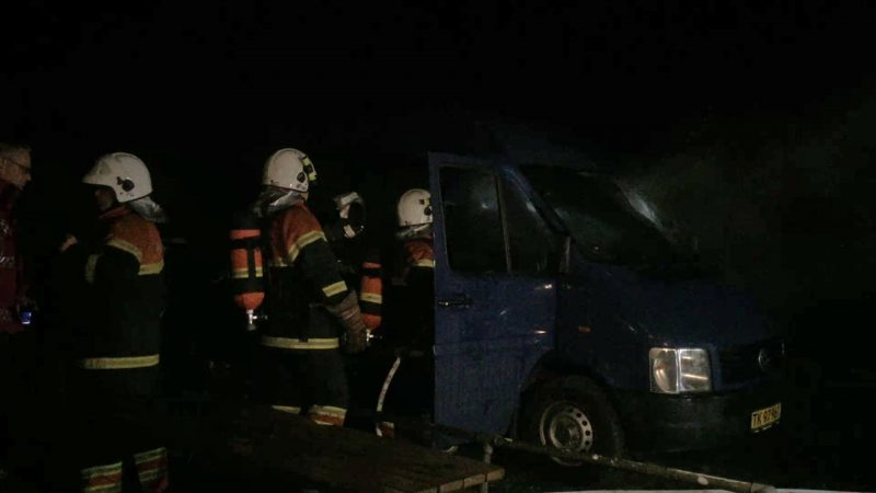 Kassebil sat i brand på Motalavej i Korsør nytårsaften.
