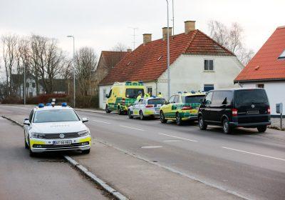 politiaktion i Udby