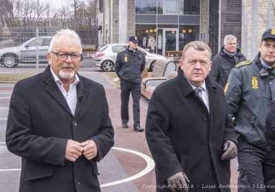 Statsminister Lars Løkke besøger ghettoen Motalavej i Korsør