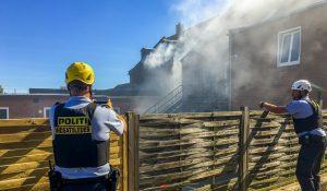 To gange på et døgn rykkede brandvæsnet ud til samme adresse