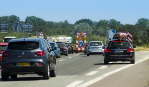 Uheld skabte massive kødannelser på Vestmotorvejen