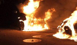 Endnu en påsat brand i biler ved Motalavej i Korsør giver føget indsats fra politiet