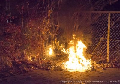 Mindre brand ved Birkehuset i Korsør