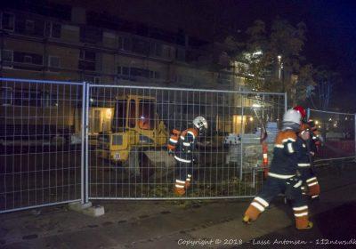 brand i maskine på Motalavej i Korsør