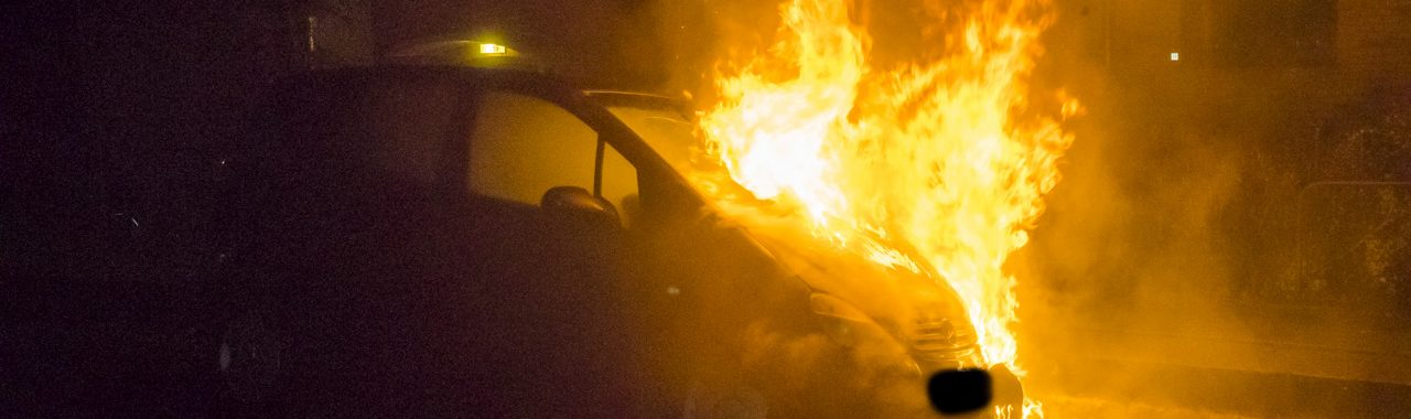 Endnu en bil i brand på Egersundsvej i Korsør