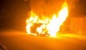 Endnu en påsat bilbrand i Korsør - Politiet søger vidner.