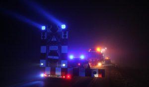 Ko reddet fra brandende traktor