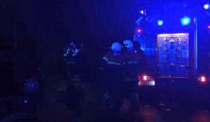 brand i bil på Nankes Plads i Korsør