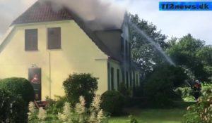 Gårdbrand og drab Slagelse Landevej ved Vemmelev