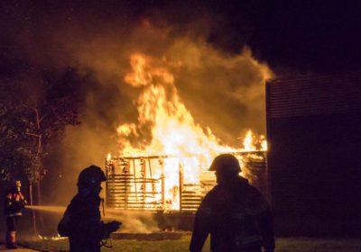 påsat brand i netto på kjærsvej i Korsør