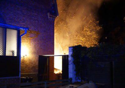 Seriehærværk og brand på Mathisensvej i Korsør