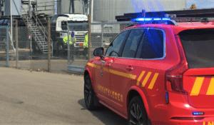 Kemikalieudslip på Nordvangen i Korsør