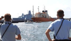 Sejler i havsnød uløste stor redningsaktion