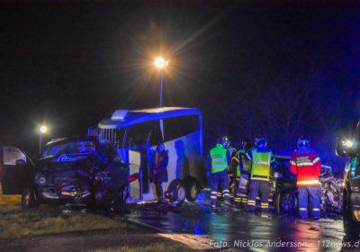 En person dræbt i alvorligt uheld på Høng Landevej ved Høng