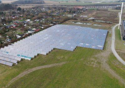 Hærværk mod solenergianlæg i Korsør