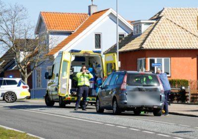 Børn løb over vejen - Færdselsuheld på Skovvej i Korsør