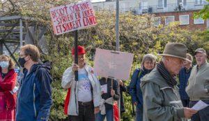 Demonstration - Protest mod hjemsendelse af syriske flygtninge