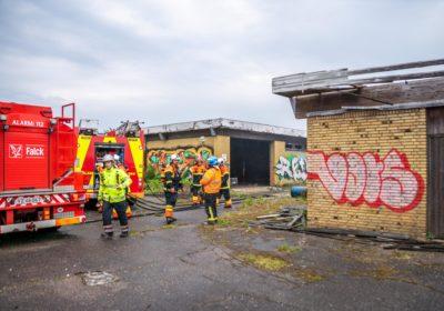 Endnu en påsat brand i den nedlagte Basta Låsefabrik i Korsør