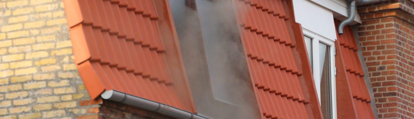 To personer på sygehuset efter brand i lejlighed på Hellig Andersvej i Slagelse