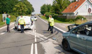 Færdselsuheld på Slagelse Landevej ved Korsør