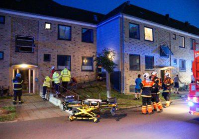Røg fra lejlighed i Fasanstien i Korsør - Brandvæsenet bankede døren ind
