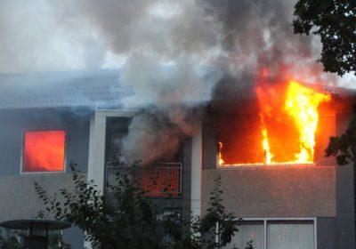 Kat mistede livet under voldsom brand i lejlighed på Ærøvej i Slagelse