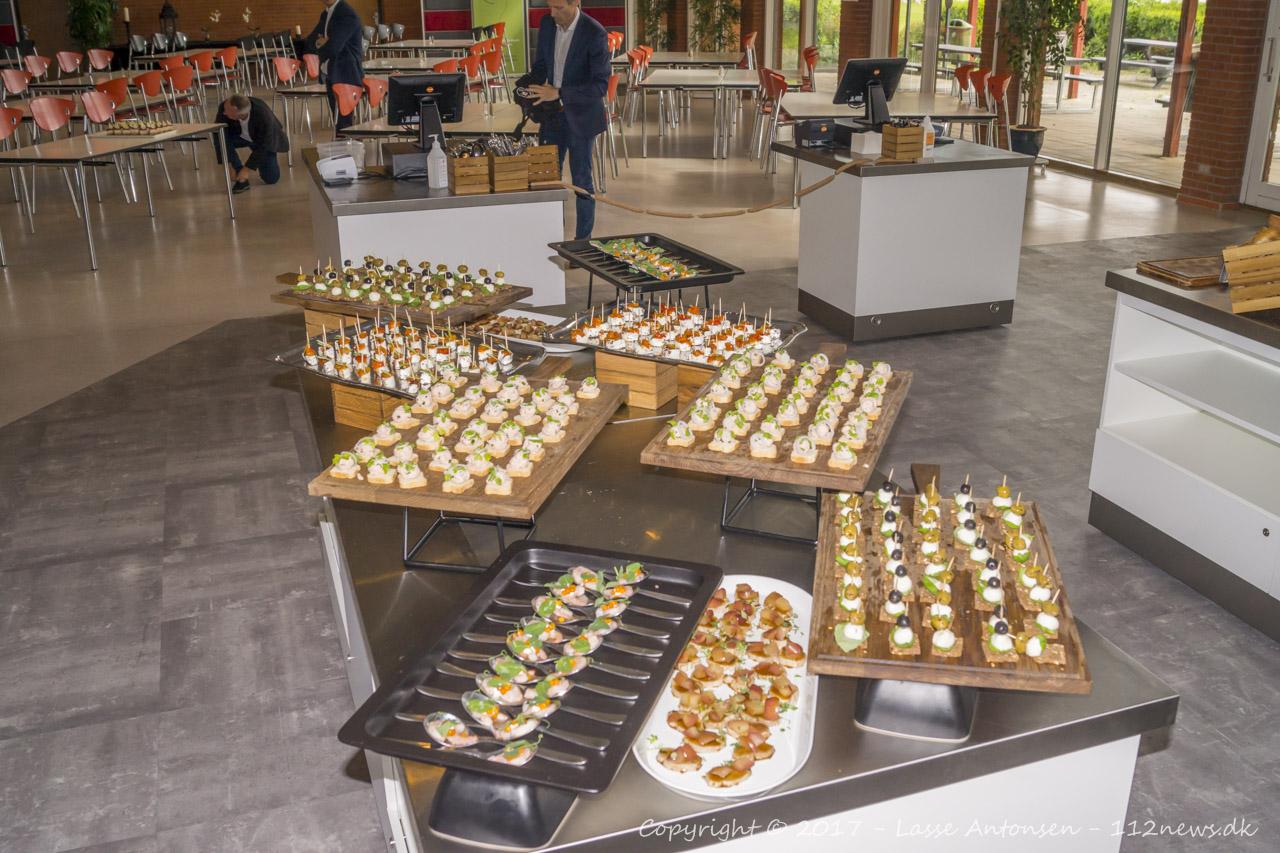 Indvielse af ny Food Hall hos ZBC i Ringsted